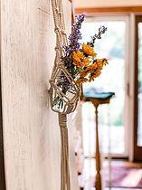DIY Macrame wall vase Long Island
