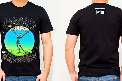 Ground Yourself to Reach the Stars T-shirt (color)