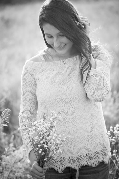 Senior Girl Session with Julie Frances Photography