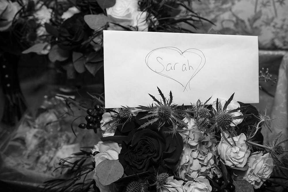 Letter to Sarah on her Wedding Day