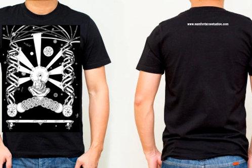 Observation of Stillness T-shirt (Black and White)