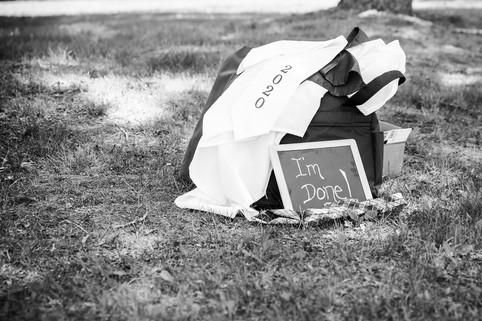 Julie Frances Photography Senior Cap & Gown Session