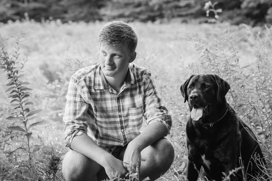 Senior Boy Session with Julie Frances Photography