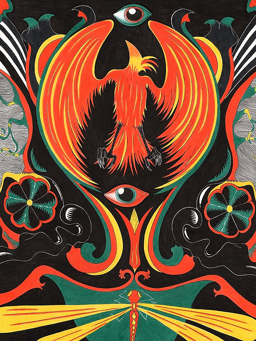 Rising of the Phoenix (Print)