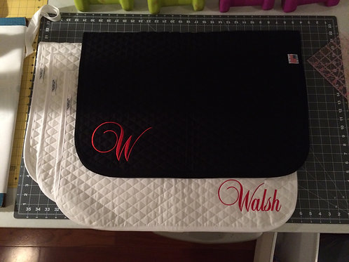 Walsh Saddle Pad