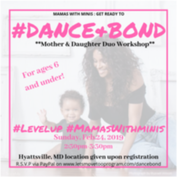 Dance & Bond Dance Class/Workshop/Event: For Moms with Little Girls