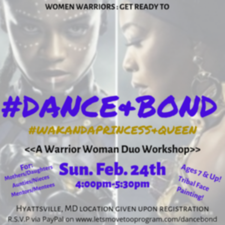 Dance & Bond Dance Class / Workshop/ Event: For women and girls!