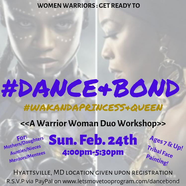 Dance & Bond Dance Class / Workshop/ Event: For women and girls!