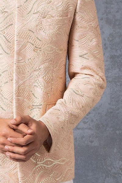 Royal embroidered bandhgala dor sagan ce