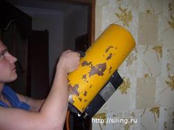 Нагрев помещения тепловой пушкой