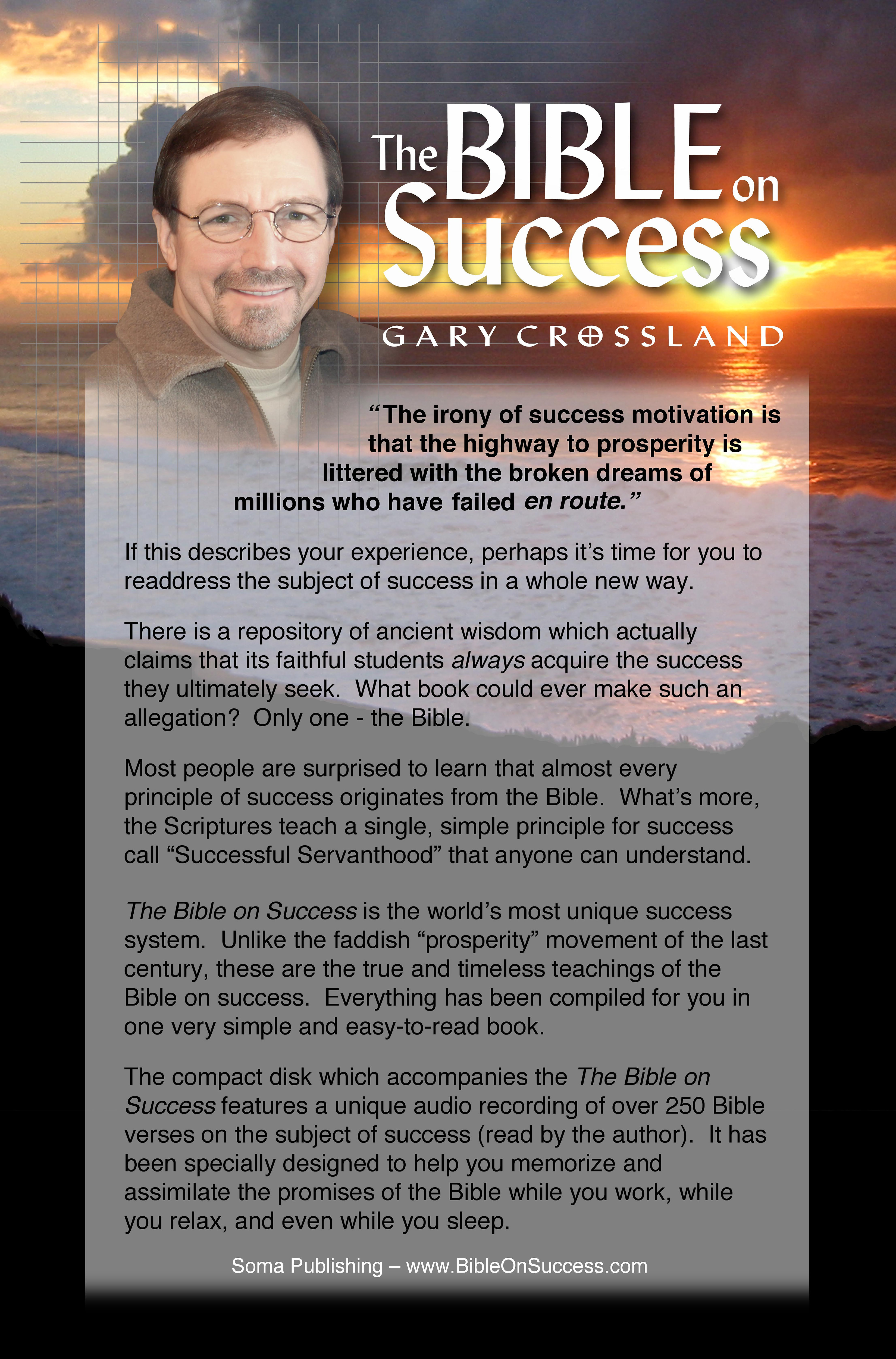 The Bible on Success (PDF eBook and MP3 audio download)