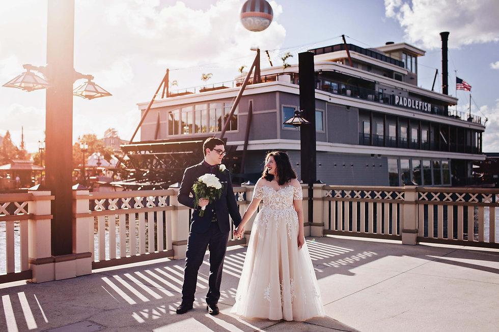 Paddefish at Disney Sprigs - Disney Weddings