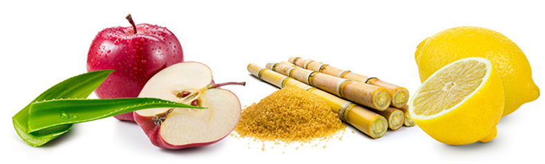 Cezanne Ingredients Apple, Ginger, Aloe, Lemon