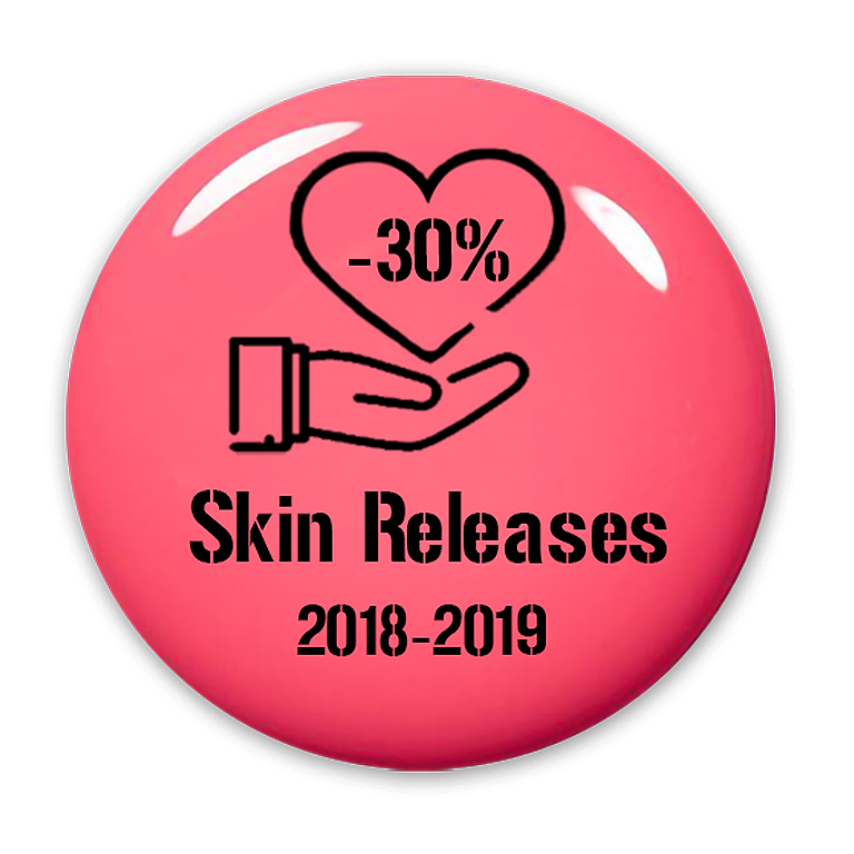 -30% off on Skin Releases from 2018-2019