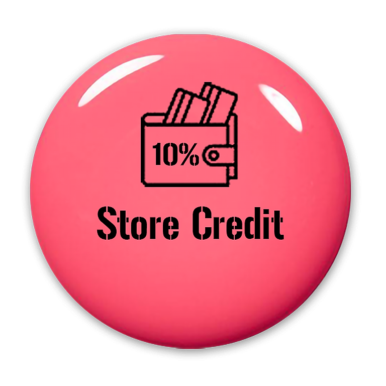 10% Back in Store Credit