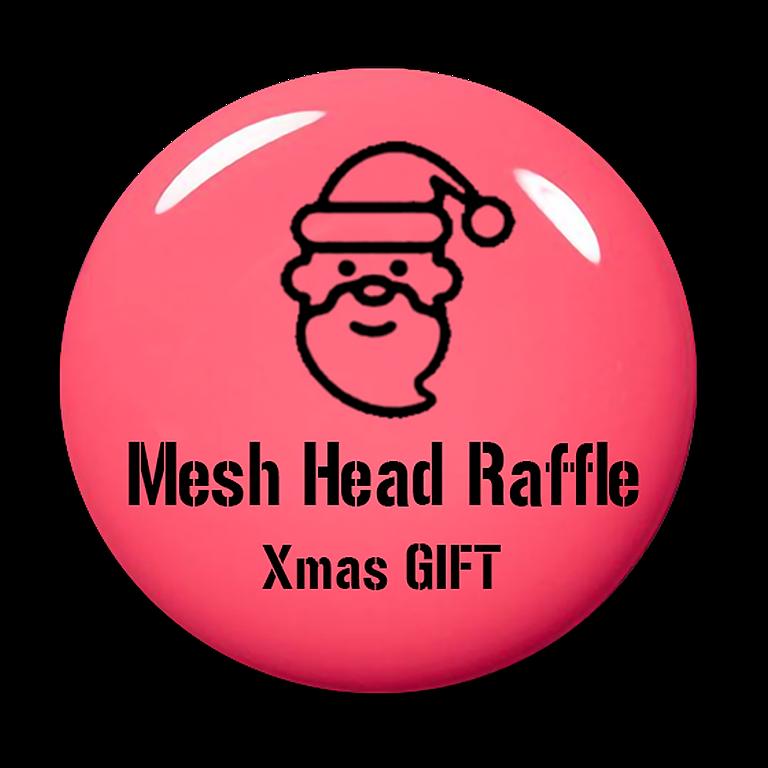 Xmas Gift - Mesh Head Raffle