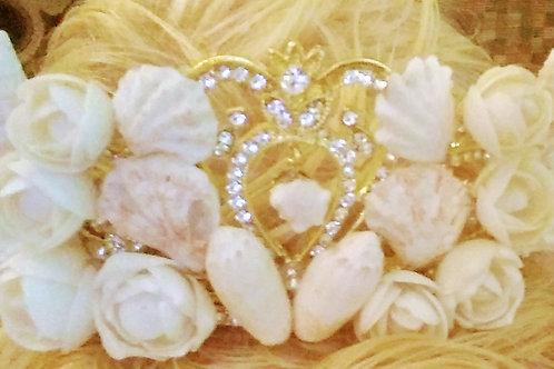 Tiara - Seashell Mermaid / Bridal Tiara