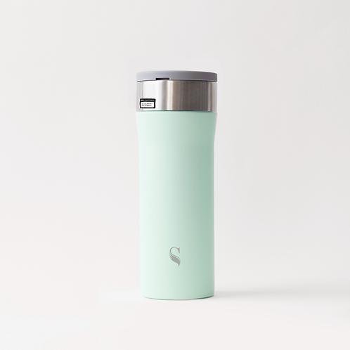 Green Apple Kokoro Porcelain Thermal Flask 450ml