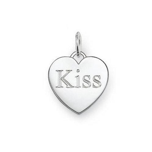 Thomas Sabo PE437-001-12 Sterling Silver Kiss Heart Pendant 3301391