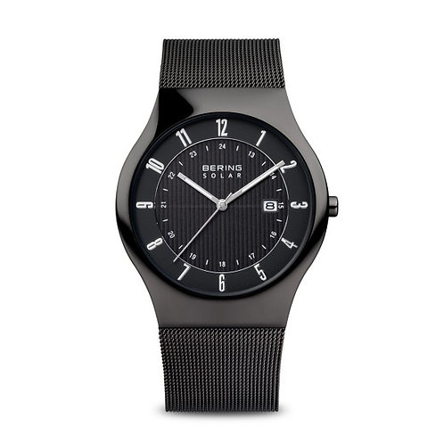 Bering14640-222Solar polished black Gents Watch 2903350