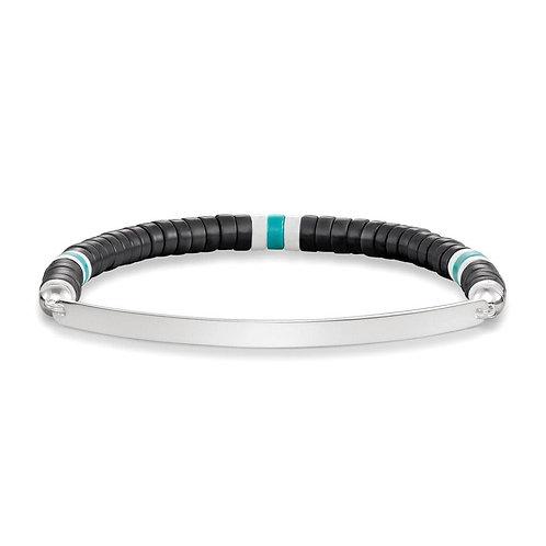 Thomas Sabo LBA0092-885 Silver Stretch Love Bridge Bracelet 3305198