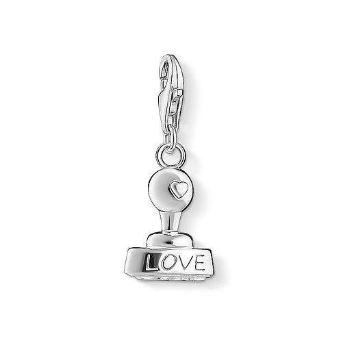 Thomas Sabo 1312-001-12 Love Stamp Charm 3321312