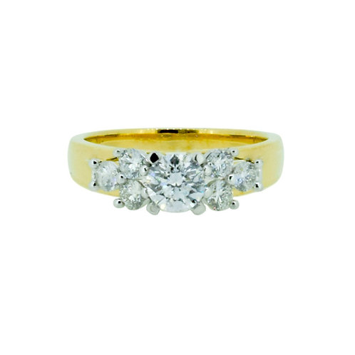 1.00ct Brilliant Cut 18kt Gold Diamond  Engagement Ring 0112069