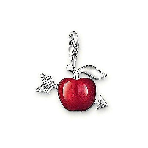 Thomas Sabo 0705 Red Apple Silver Charm 3310705