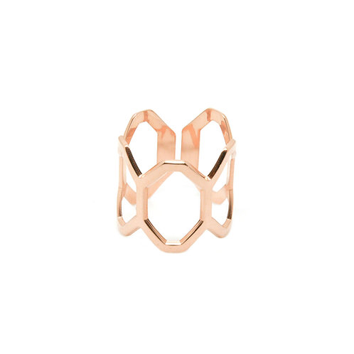 Mya-Bay HONEYCOMB Ring BA-26