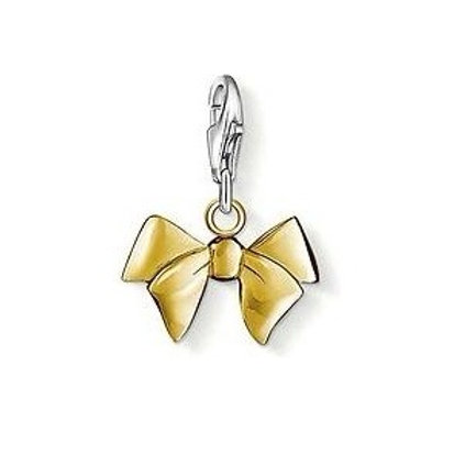 Thomas Sabo 0964 Gold Bow Silver Charm 3310964