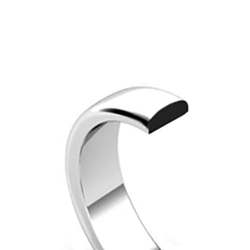 Style 4 Classic D-Shape Wedding Ring
