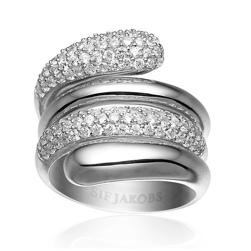 Sif Jakobs R10608-CZ Sterling Silver Ring 4703009