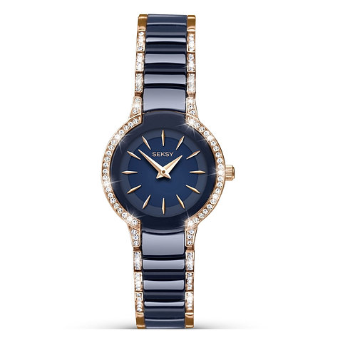 Seksy 2382 Ladies Ceramic Quartz Watch 2901731