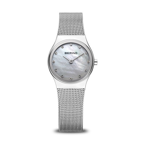 Bering12924-000 Classic brushed silver Mother of Pearl Ladies Watch 2901642