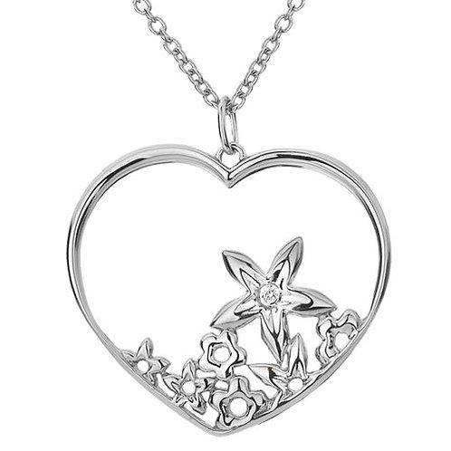 Hot Diamonds DP353 Sterling Silver Heart Pendant 3001144