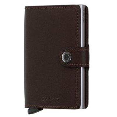 Secrid MO-Dark Brown Original Dark Brown Miniwallet 1718080