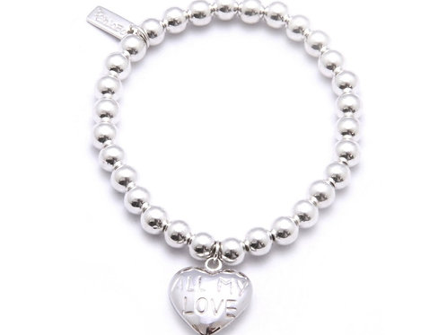 Chlobo SBA1 Small Ball All My Love Sterling Silver Bracelet 1405477