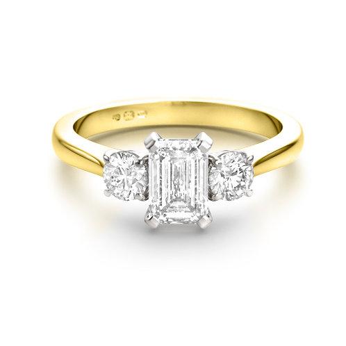 1.53ct Brilliant Cut 18kt Gold Diamond Engagement Ring 0103075
