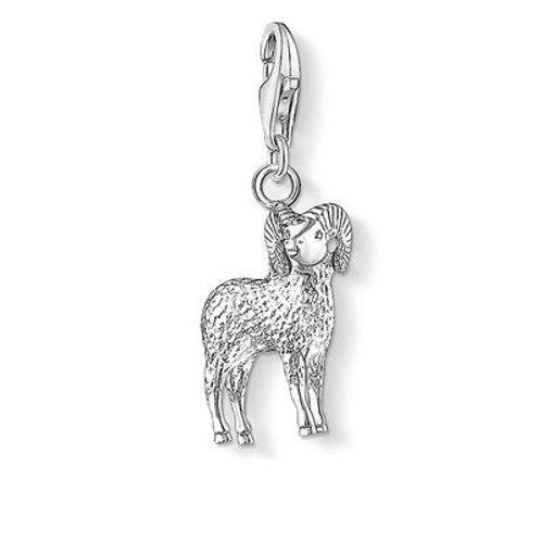 Thomas Sabo 0584-001-12  Zodiac Sign Aries Silver Charm 3310584