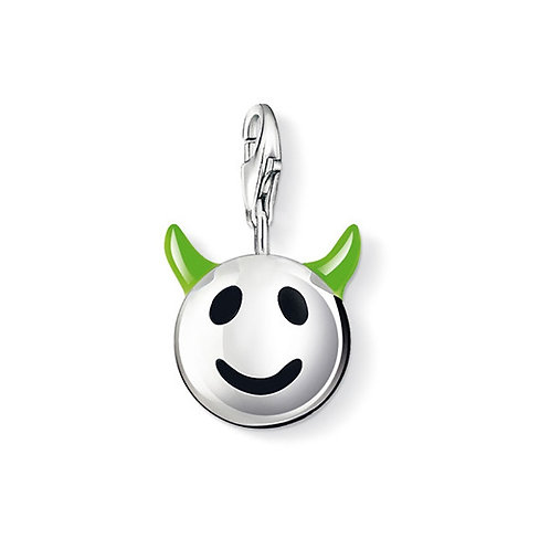 Thomas Sabo 0730-007-6 Horned Funny Face Silver Charm 3310730