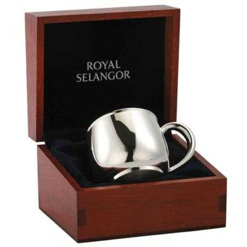 Baby Mug in Wooden Gift Box 012114RG