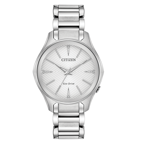 Citizen EM0590-54A Ladies Stainless Steel Eco-Drive Watch 2601122