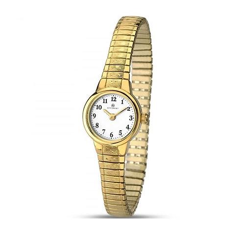 Accurist 8050 Ladies Expanding Gold Tone Quartz Watch 2701030