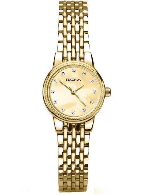 Ladies 2466 Sekonda gold plate watch 2901770