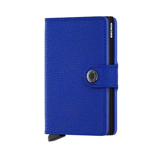 Secrid Miniwallet Crisple Blue-Black 1718122