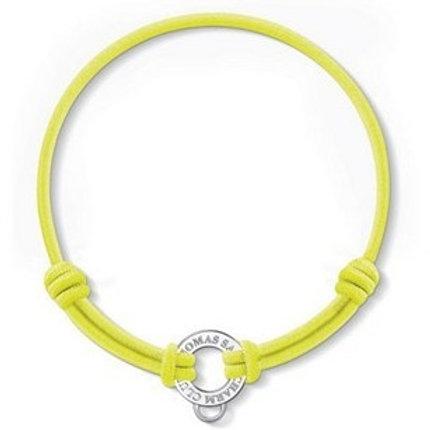 Thomas Sabo X0136 Silver Yellow Stretch Cord Bracelet 3311058