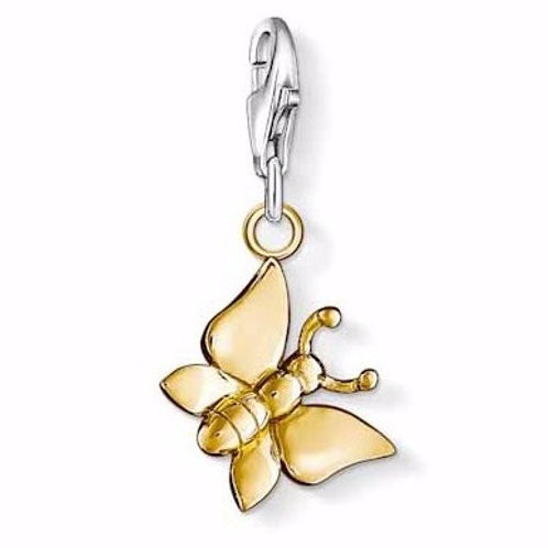Thomas Sabo 0914-413-12 Butterfly Silver Charm 3310914