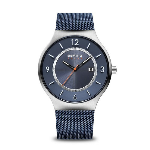 Bering14441-307 Solar polished polished silver Gents Watch 2901909