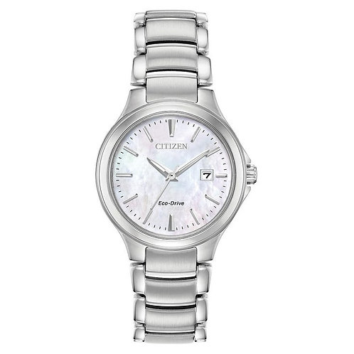 Citizen EW2520-56Y Ladies Stainless Steel Eco-Drive Watch 2601131