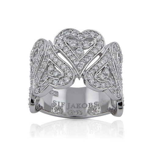 Sif Jakobs R057-CZ Sterling Silver Ring 4703021
